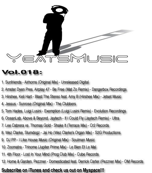Yeats-Music-Vol.018-Tracklisting