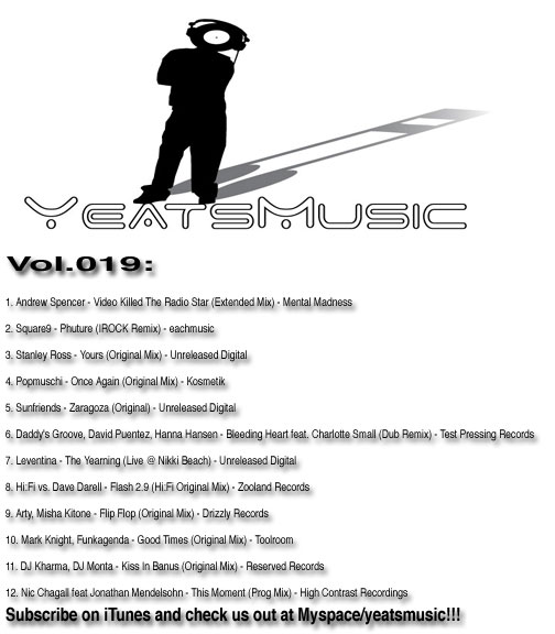 Yeats Music Vol.019