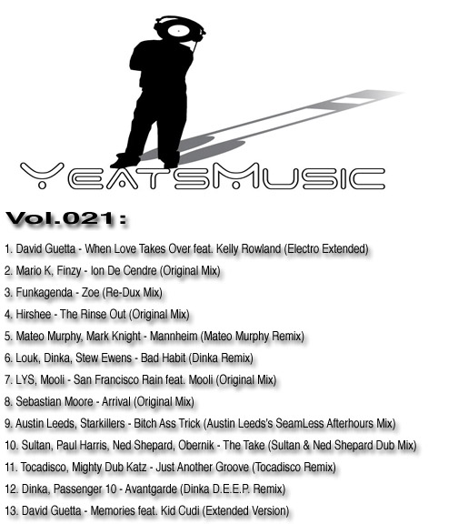 Yeats Music Vol.021
