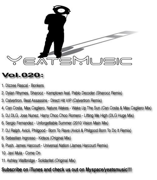 Yeats Music Vol.020