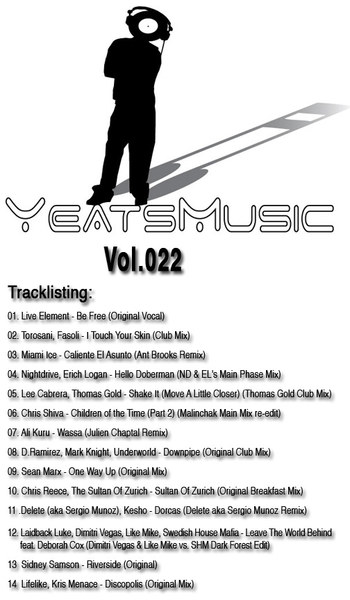 Yeats Music Vol.022
