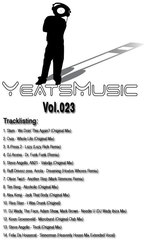 Yeats Music Vol.023